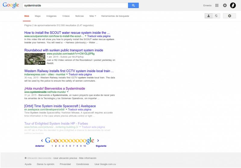 Google SystemInside