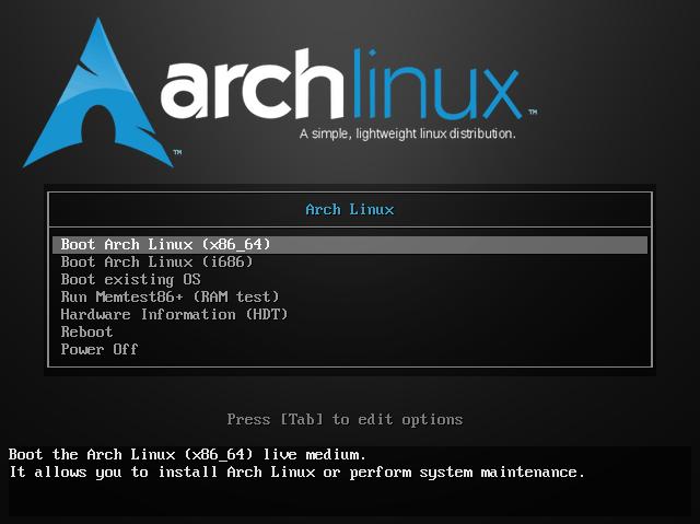 Bienvenida instalación ArchLinux