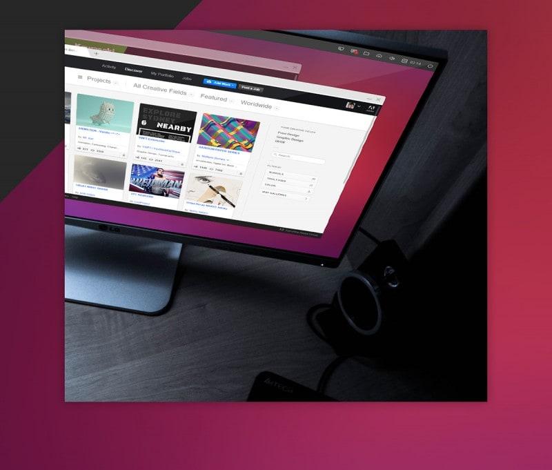 Mockup Ubuntu 2