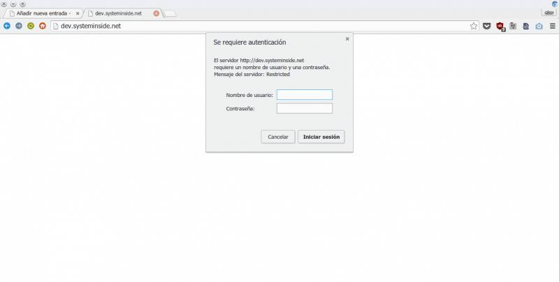 Nginx Password