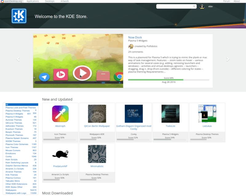 KDE Software Store