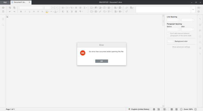 OnlyOffice en Linux