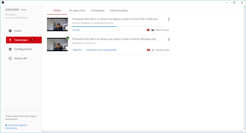 Videoder Descargas